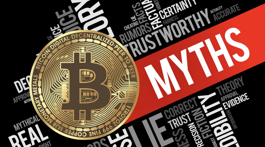 Top 10 Cryptocurrency Myths That You Should Know are Not True